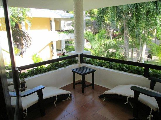 Bavaro Princess All Suites Resort, Spa & Casino: Balcon