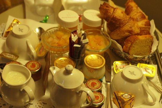 Hotel du Champ de Mars: Petit Dejeuner ... the best, el mejor