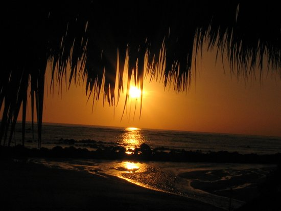 Royal Decameron Salinitas: Sunset on the resort