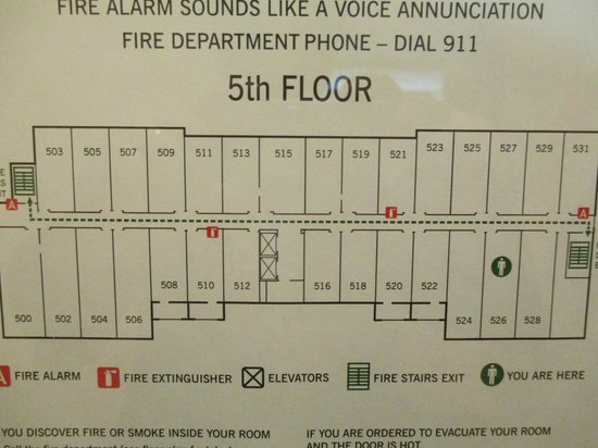 Four Points by Sheraton San Antonio Airport: Floor Map
