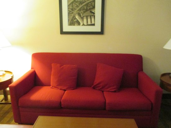 Four Points by Sheraton San Antonio Airport: Livingroom Couch