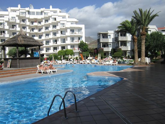 Sundown - Picture of HG Tenerife Sur Apartments, Los Cristianos - TripAdvisor