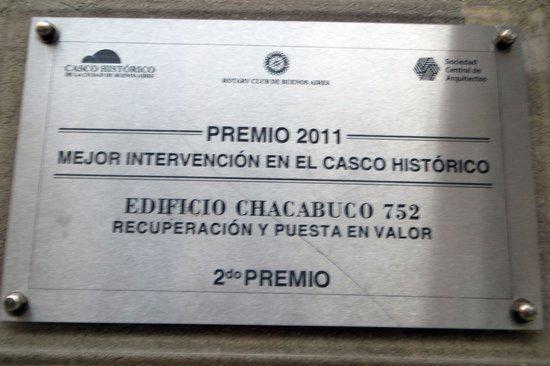 Hotel Patios De San Telmo : Historic marker