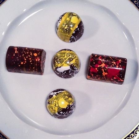 The St. Regis Bal Harbour Resort: Hand painted Bonbons by Chef Bachour