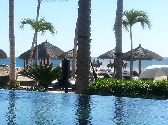 Cabo Azul Resort: Horses to rent on the beach