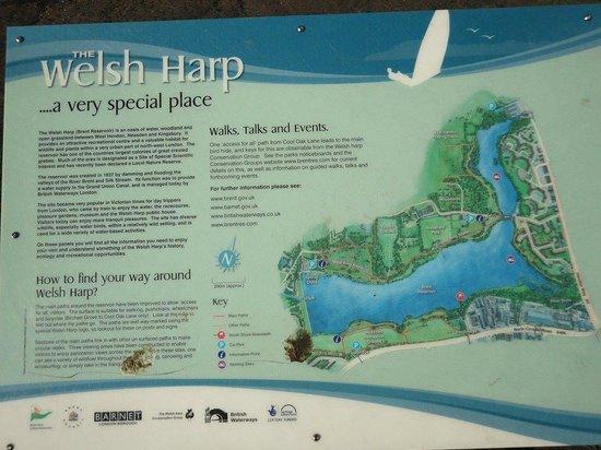 Brent Reservoir (Welsh Harp) Canalside: Brent Reservoir