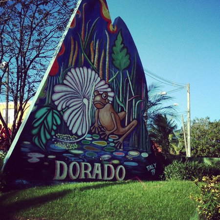 Hyatt Hacienda Del Mar: On the road into the city