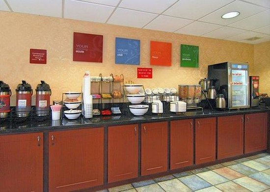 Quality Inn & Suites : breakfast