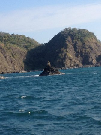 Luna Negra: View from the fishing boat