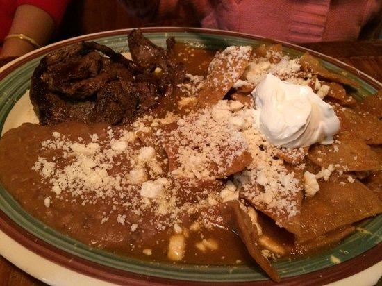 Guajillo's The Shortcut to Mexico: Chilaquiles