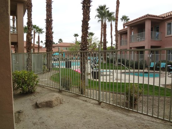 Residence Inn Palm Desert : Our view