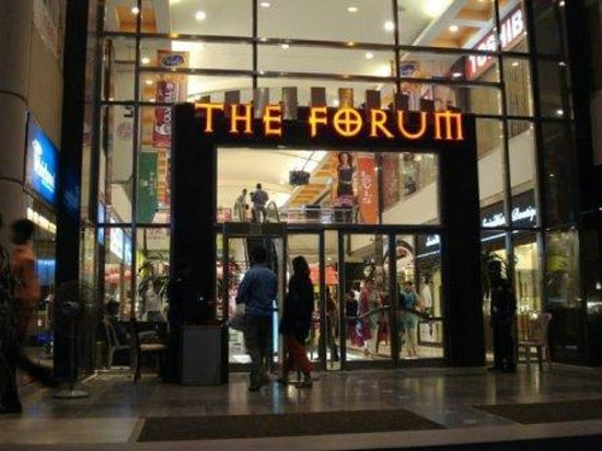 Marvelous Shopping Mall with Branded Shops - Review of The Forum