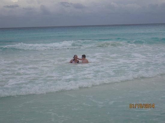 Gran Caribe Resort : beach