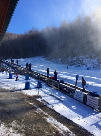 Jonas Ridge Snow Tubing: Fun!!
