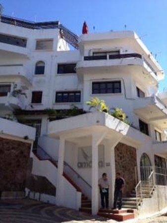 Amaca Hotel: Hotel Front