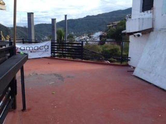 Amaca Hotel: Roof terrace
