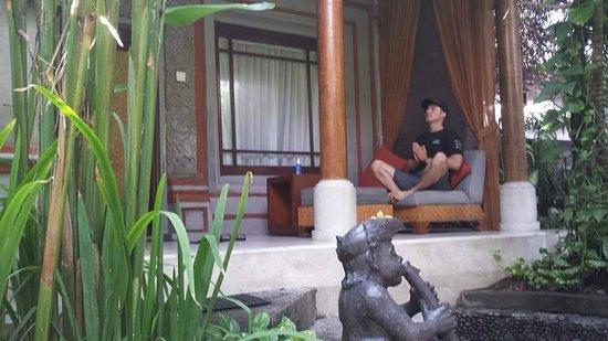 Kuta Seaview Boutique Resort & Spa: Front porch of Bungalow