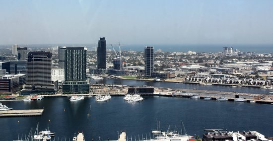 The Sebel Residences Melbourne Docklands: Docklands view