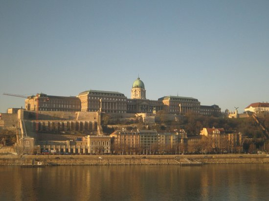 InterContinental Budapest : The view from my room.