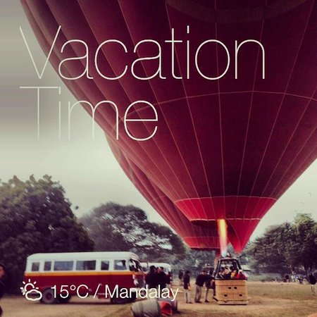 Balloons over Bagan: Hot Air Balloons and their quaint transport arrangements