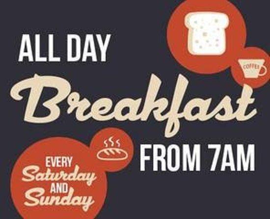 Arkaba Hotel: All day breakfast every Sat & Sun