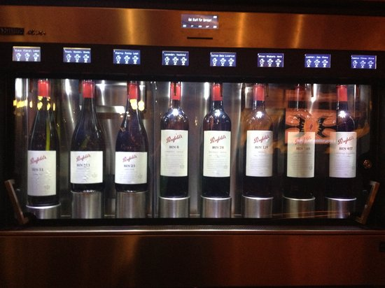 Arkaba Hotel: Premium Wines served at the perfect temperature - Enomatic