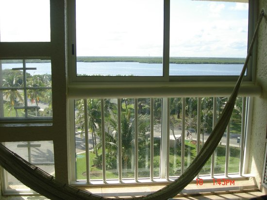 Club Regina Cancun : Hammock and view from room