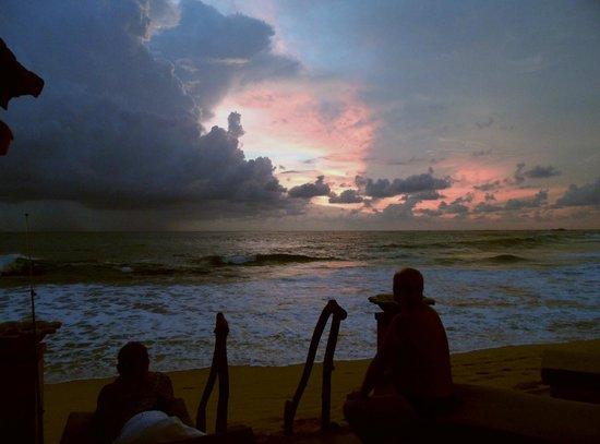 EKA Beach: Sunset at EKA