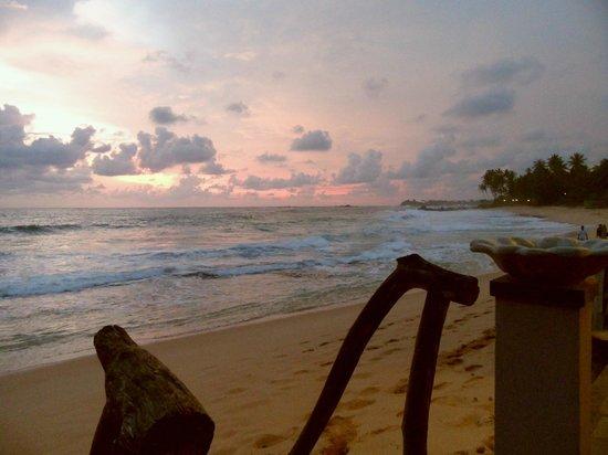 EKA Beach: Sunset from EKA