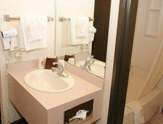 Super 8 Albuquerque East: Bathroom