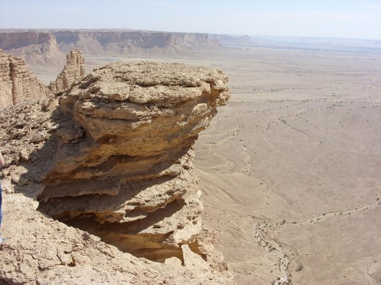 Riyadh Province, Saudi Arabia: a beautiful big stone
