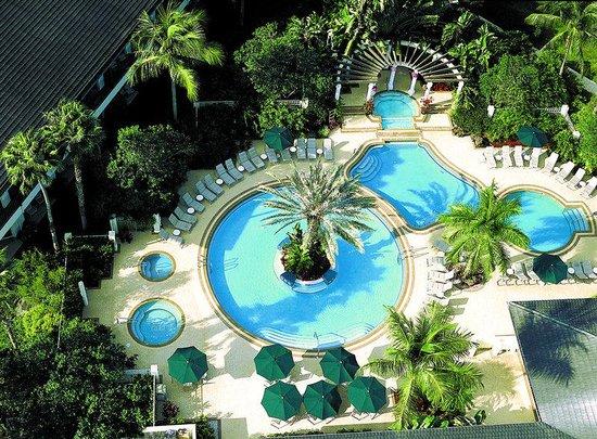 Wonderful PGA National Resort U0026 Spa: Aerial View Of Waters Of The World Pools