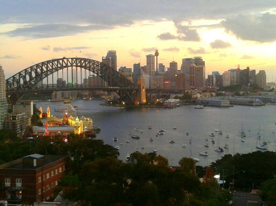 North Sydney Harbourview Hotel : Room view