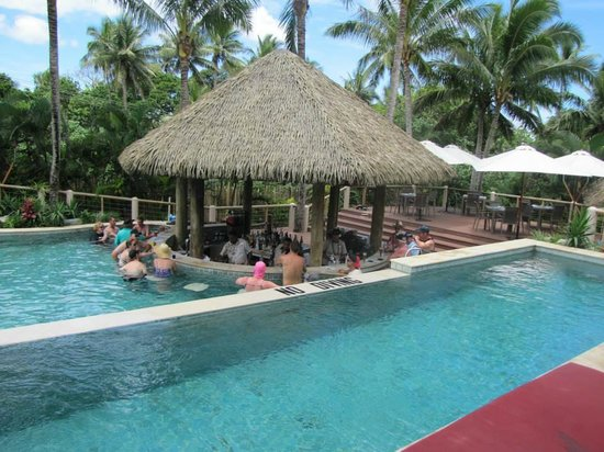 Outrigger Fiji Beach Resort S Only Pool Bar