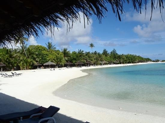 Cinnamon Dhonveli Maldives : the view from our beach bungalow