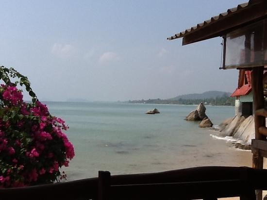 Thong Yang Bungalows: vue du bungalow