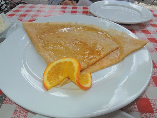 Bonjour: Sugar and Grand Marnier Crepe