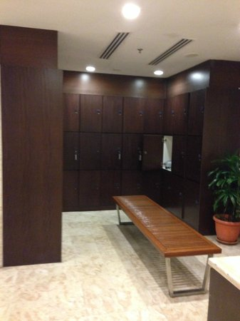 Fraser Place Kuala Lumpur : Male Changing Room on 18th Floor
