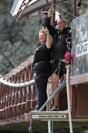 AJ Hackett Bungy New Zealand: That's higher than I thought!