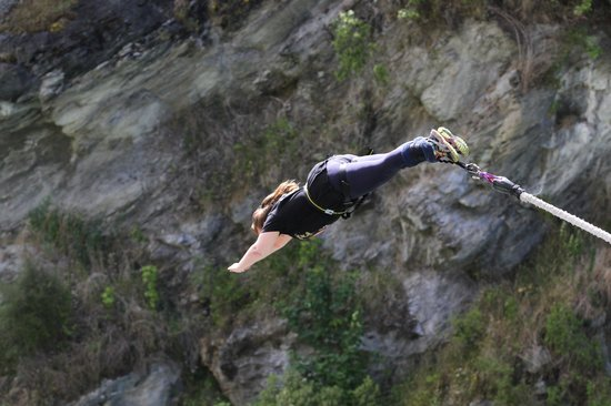 AJ Hackett Bungy New Zealand: Ahhhhhhhhhhh