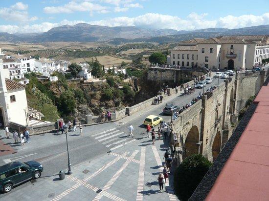 Parador de Ronda : テラスからの眺め