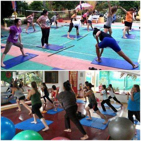 Fitness Resort Sihanoukville : Aerobics class