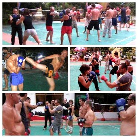 Fitness Resort Sihanoukville : Muay thai class