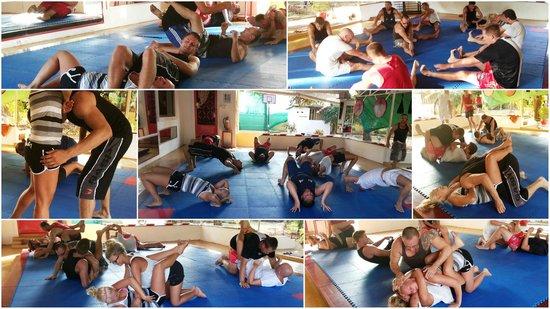 Fitness Resort Sihanoukville: Mixed martials arts class