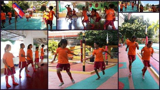 Fitness Resort Sihanoukville : Sport class for children