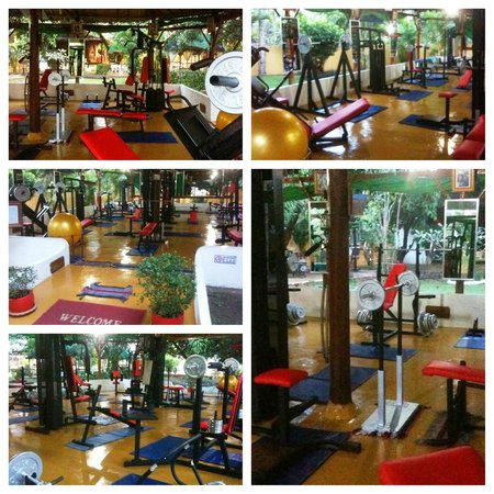 Fitness Resort Sihanoukville: The GYM