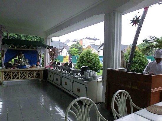 Inna Bali Heritage Hotel : restrant