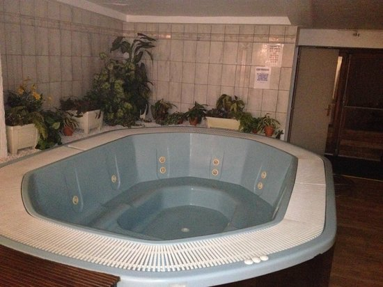 Hotel Terminus Mont-Blanc : Jacuzzi that no one knew how to work