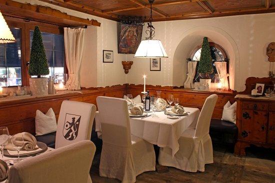 Hotel Edelweiss & Gurgl a la carte Restaurant: Restaurant im Hotel Edelweiss & Gurgl