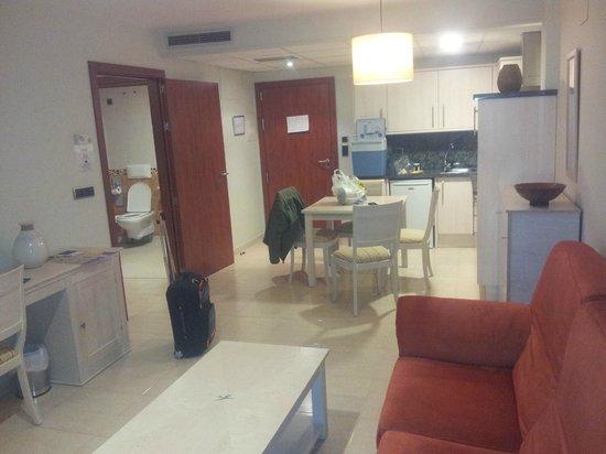 Daniya Denia: I had a free upgrade to this spacious junior suite